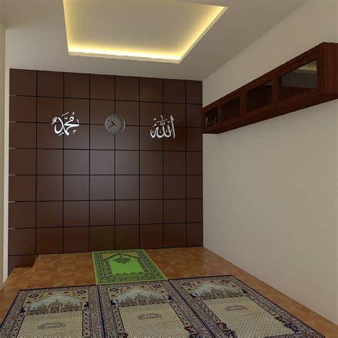 desain dinding mushola hiasan dinding mushola minimalis mushola minimalis