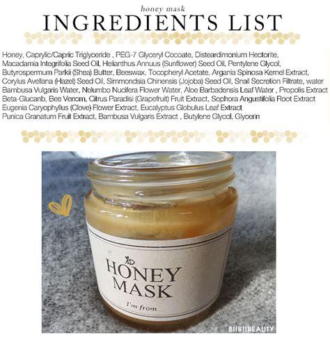 Masker Badan Madu Honey Mask honey mask review i m from honey mask review