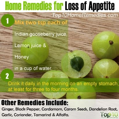 Stimulants Herbs That Give home remedies for loss of appetite top 10 home remedies