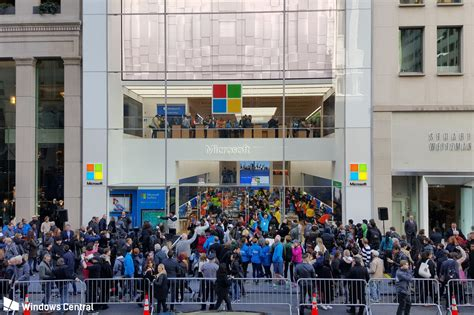 tour of the new microsoft flagship store in new york