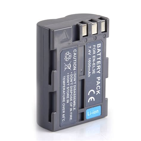 Kamera Nikon D900 ersatz kamera akku pack f 252 r nikon en el3e dslr d50 d70 d70s batterie accu neu ebay