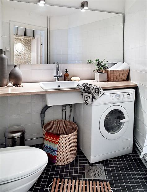 small laundry bathroom design