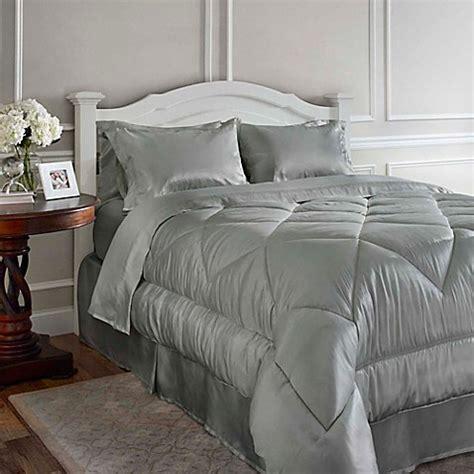 satin comforter king satin luxury comforter set bed bath beyond