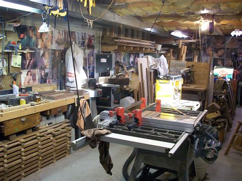 woodworking shop tips workshop organization basement workshop