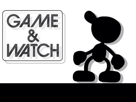 game watch wallpaper my first attempt at drawing mr game and watch by