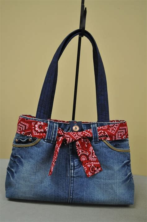 jeans handbag pattern pin by ruth church on bags boxes jars containers