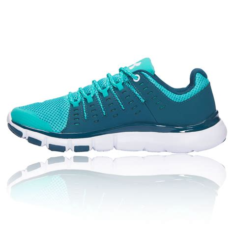 armour sports shoes armour micro g limitless tr 2 womens blue