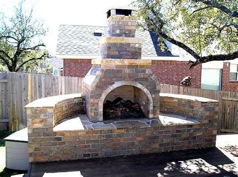 17 Best Images About Fire Pit Fireplace On Pinterest Free Outdoor Fireplace Plans