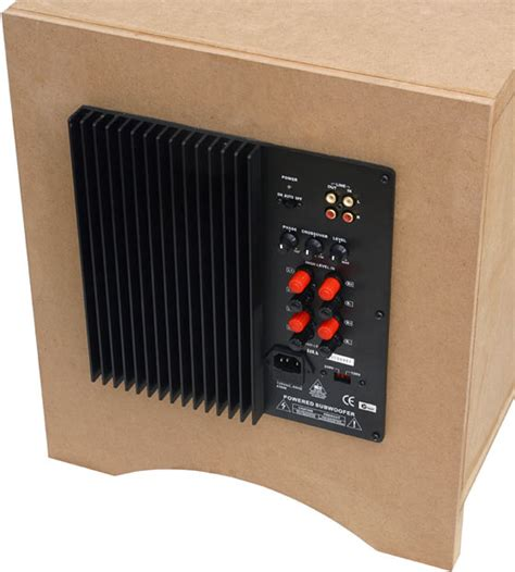 home subwoofer lifier kit gallery