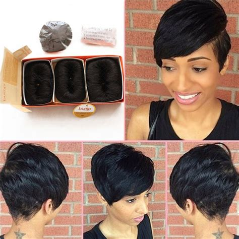 Brazillian Pieces Hairsyles | brazilian human short hair extensions 27 pieces short