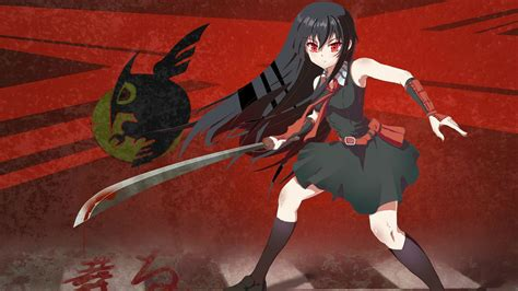 wallpaper anime akame ga kill akame ga kill full hd wallpaper and background