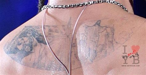 jesus resurrection tattoo taeyang s tattoo devoted to the sun