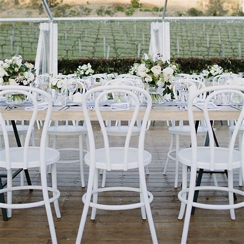 white bentwood chairs wedding white bentwood chair hton event hire wedding
