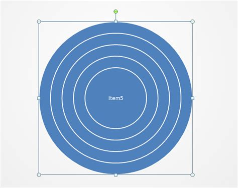 How To Create Concentric Circles In Powerpoint Concentric Circles Ppt