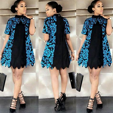 Short And Simple Ankara Gown