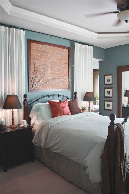 ultimate bedroom curtain ideas  wall cover  modern