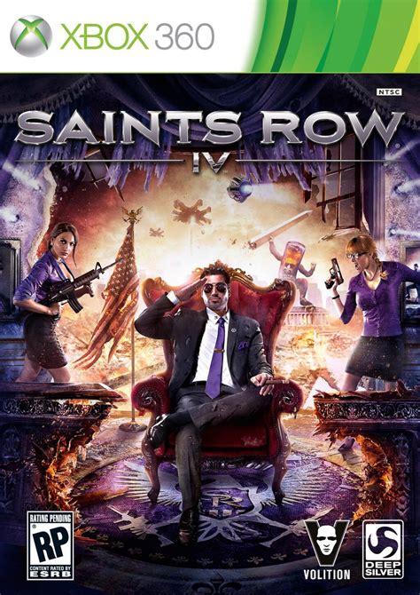 sanits row 4 saints row 4 box revealed news www gameinformer