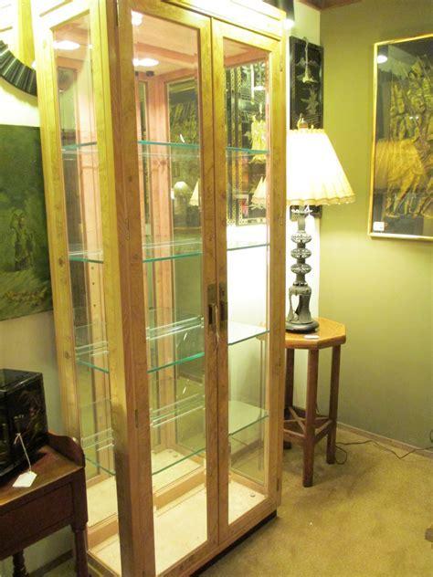 Tall Henredon Glass Display Cabinet ? SOLD ? Ballard