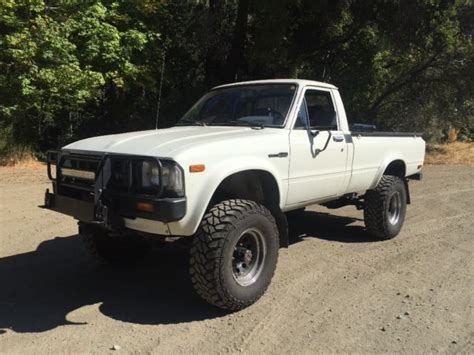 1982 Toyota 4x4 1982 Toyota Sr5 Hilux 4x4 Box Frame Restored