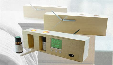 aromatherapy alarm clock inhabitat sustainable design innovation eco architecture green