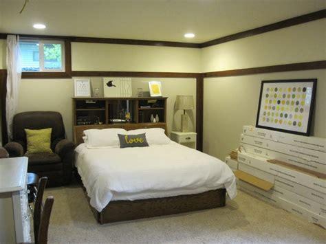 Chambre à coucher idées pour un sous sol ? Idées de décoration chambre