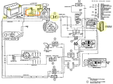 1965 ford f100 electrical wiring diagram 40 wiring