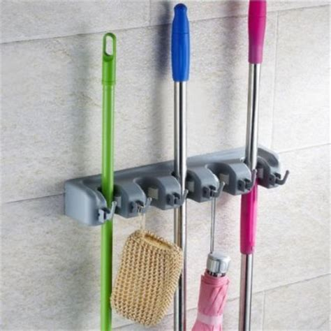Garden Tool Wall Rack Buy Enilecor Mop And Broom Holder Organiser Wall Mounted