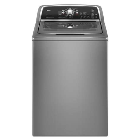 maytag bravos washer shop maytag bravos 3 6 cu ft high efficiency top load washer lunar silver energy at lowes