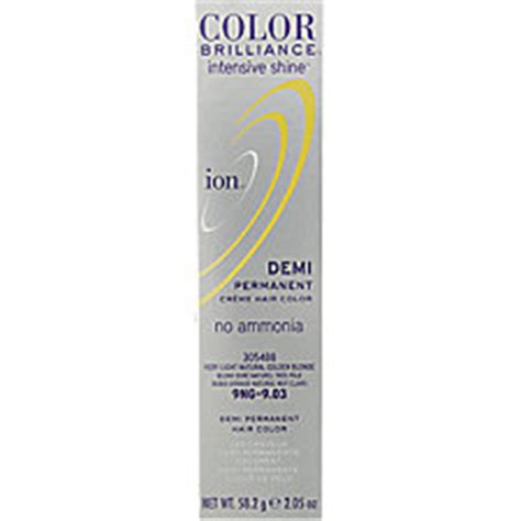 my results w ion color brilliance lightest cool blonde ion color brilliance ion demi 9g very light golden blonde
