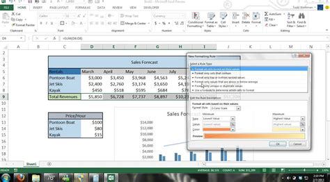 tutorial excel 2013 formulas microsoft excel 2013 tutorial for beginners 4 crash