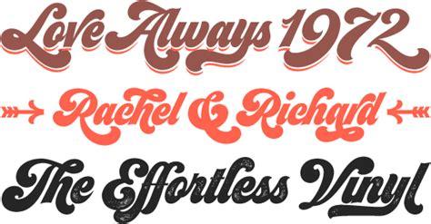 typography 70s seventies font family linotype