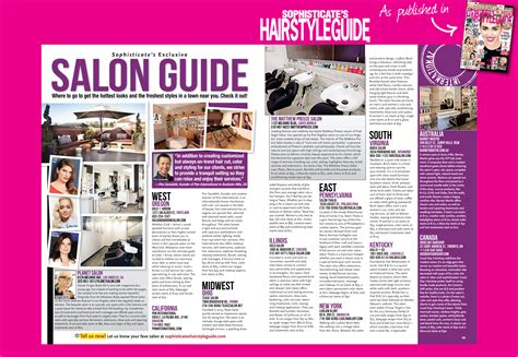 sophisticate s hairstyle guide salon