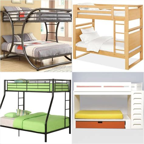 modern bunk bed modern bunk beds for kids popsugar moms