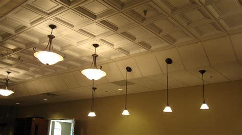 Decorative Ceiling by Decorative Ceiling Tiles Changing The Flat Surface Into
