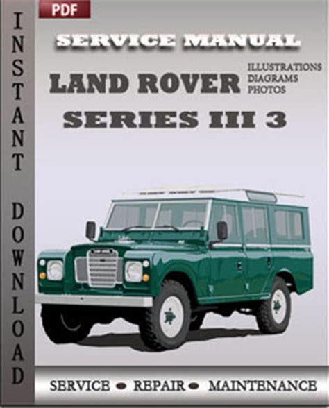 service manual rover service repair manuals pdf land rover range rover l322 2006 2007 2008 land rover series iii 3 factory manual download repair service manual pdf