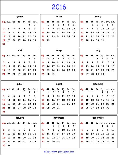 printable calendar 2016 in spanish spanish printable calendar 2016 calendar template 2016