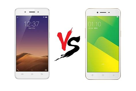 Handphone Vivo Dan Oppo harga vivo y55 vs oppo a37 spesifikasi dan perbandingan