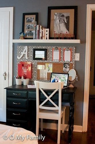 Small Desk For Apartment Small Apartment Space Decorating Ideas Via Pinterest Closet Office Pinterest Small Desk