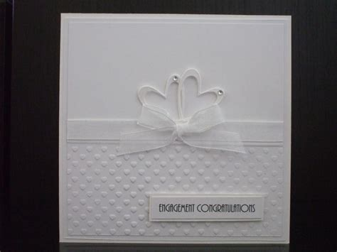 Handmade Cards For Engagement - 25 best ideas about handmade engagement cards on