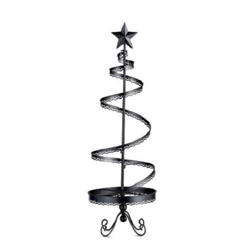 36 quot metal christmas ornament display tree indoor holiday