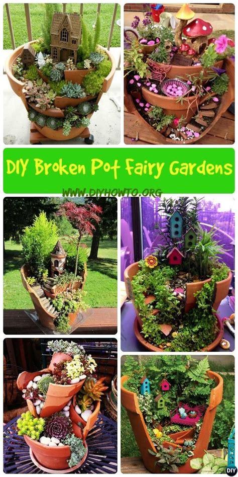Garden Decoration Pots Ideas by 25 Best Ideas About Broken Pot Garden On
