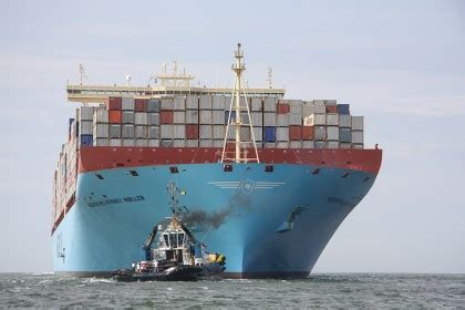 Mba Maersk International Shipping Education by E Arrives In Europe Picture Special On The