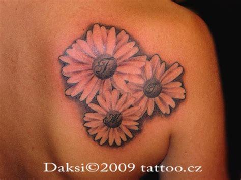 Black Mandala Sunflower Tattoo On Upper Back Black And White Sunflower Shoulder
