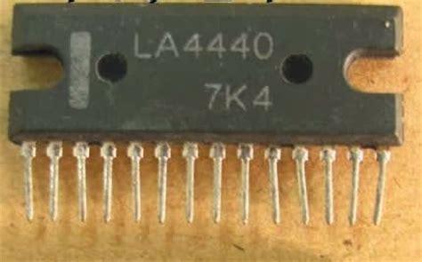 Ic La 4440 Integrated Circuit La4440 electronic circuit diagrams la4440 ic lifier