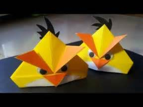Angry Birds Origami - angry birds paper folding origami