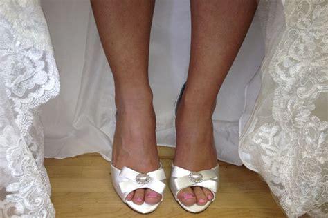 Anela Lyne Comform tried tested designer wedding shoes bridalguide