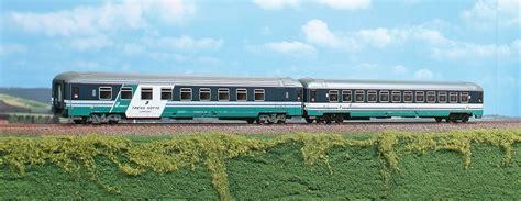 Carrozze Intercity Acme 55147 Set 2 Carrozze Intercity Notte Trenitalia
