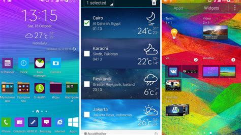 galaxy s3 weather widget apk galaxy note 4 accuweather widget for galaxy s5 and install naldotech