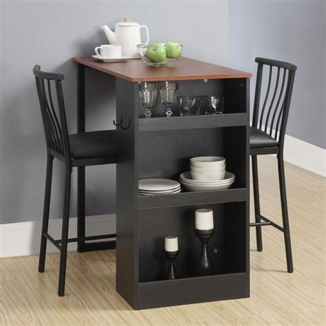 counter height kitchen table with storage bar height dining table with storage woodworking