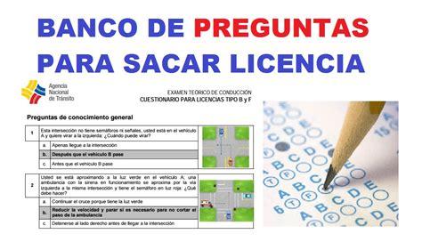 www simulador licencia tipo b www simulador licencia tipo b cuestionario licencia tipo